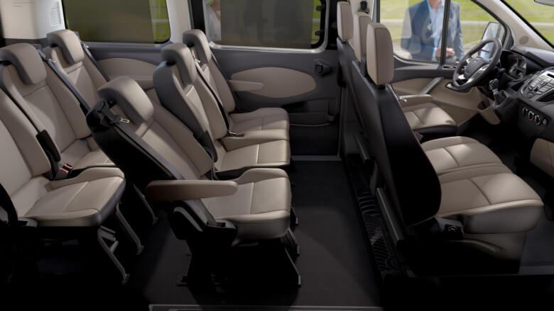 Ford Tourneo Custom lleno